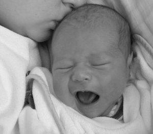 Kleinkind mit Dreimonatskolik